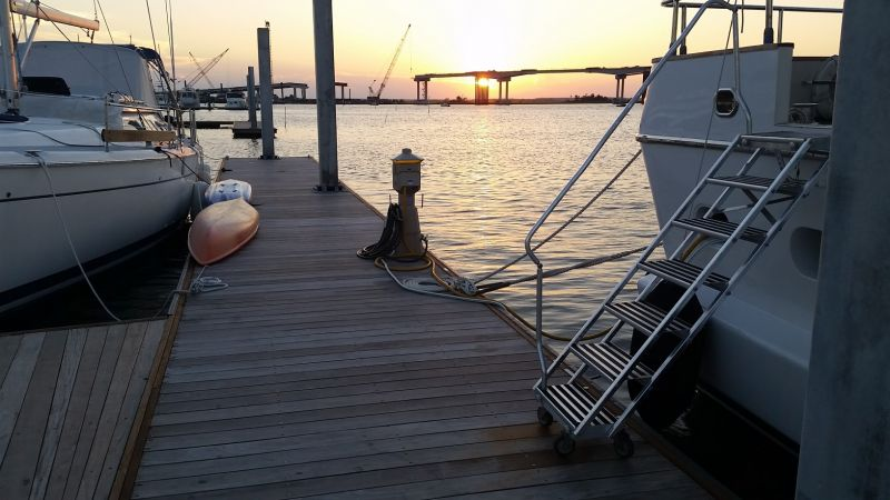 Beaufort Yacht Basin - New Marina - Boat Slips for Rent